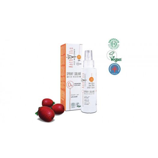 Anthyllis 1855 BIO napvédő spray, 20 SPF, 100 ml