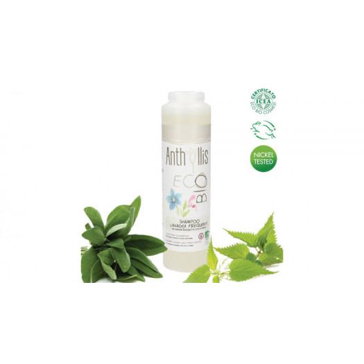 Anthyllis BIO tanúsított sampon gyakori hajmosásra, 250 ml