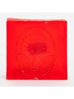 Alma-fahéj öntött szappan, szögletes