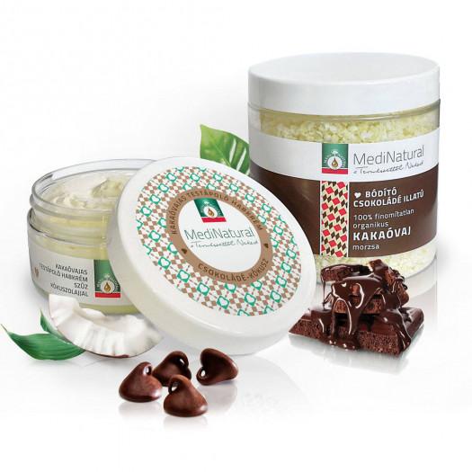 Csokicsoda ♥ édes élmény testápoló csomag száraz bőrre